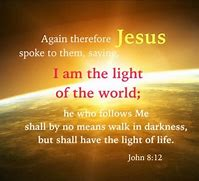 John 8 - light of the world
