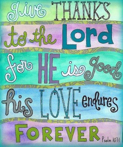 Psalm 107 - 1