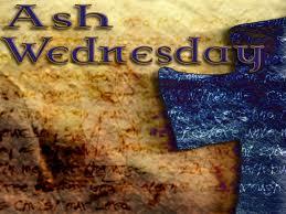 ash wed cross