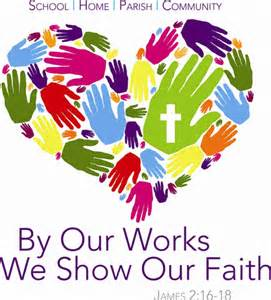 by our works we show faith