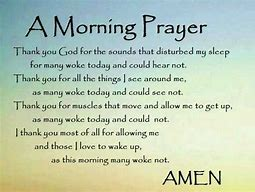prayer morning